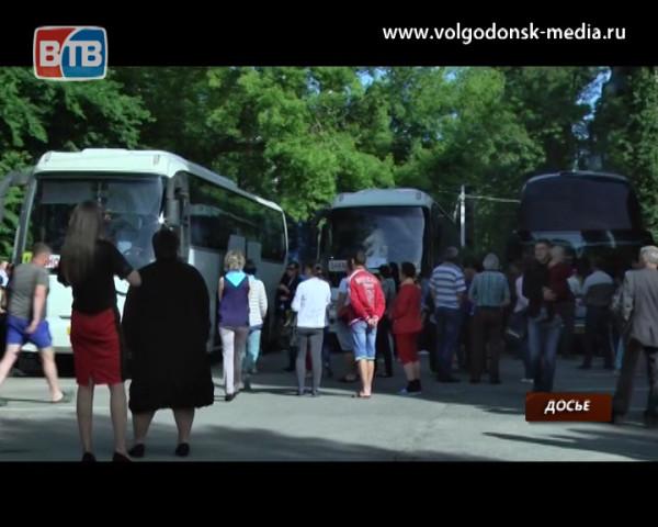 На вторую смену отдыхать к Черному морю отправились еще 150 юных горожан