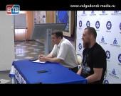 Пресс-конференцию для СМИ, после бесспорной победы, провел боксер Дмитрий Кудряшов