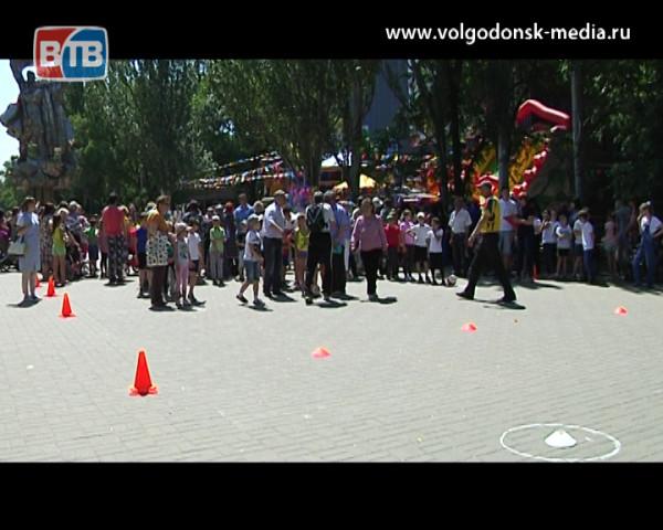 Юные горожане отметили Международный день защиты детей в парке «Победы»