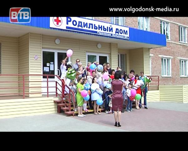 В День защиты детей в роддоме состоялась торжественная выписка новорожденных