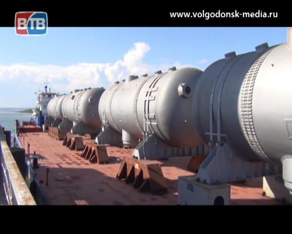 4 парогенератора отправились из Волгодонска в Белоруссию