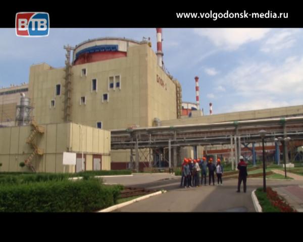 Белорусские студенты прошли стажировку на Ростовской АЭС