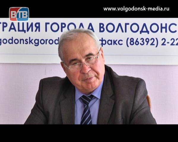 Заместитель главы Администрации по городскому хозяйству Александр Милосердов дал пресс-конференцию