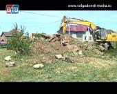 В Волгодонске расчистили от строительного мусора одну из крупнейших свалок