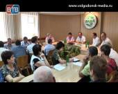 Волгодонск посетил депутат ГД РФ Виктор Дерябкин