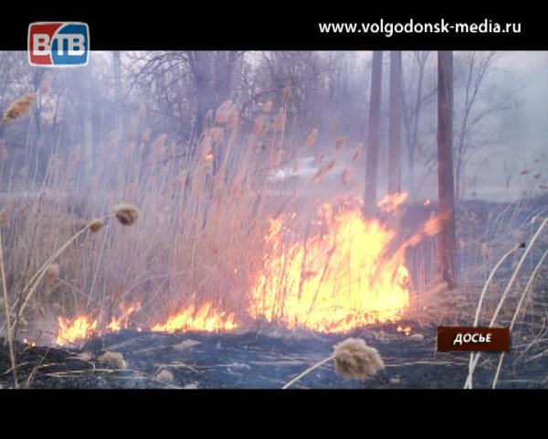 Управление ГОЧС города Волгодонска предупреждает о повышенной пожароопасности