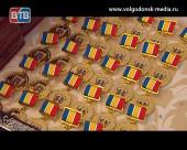 В Администрации Волгодонска вручили памятные знаки «80-летия Ростовской области»