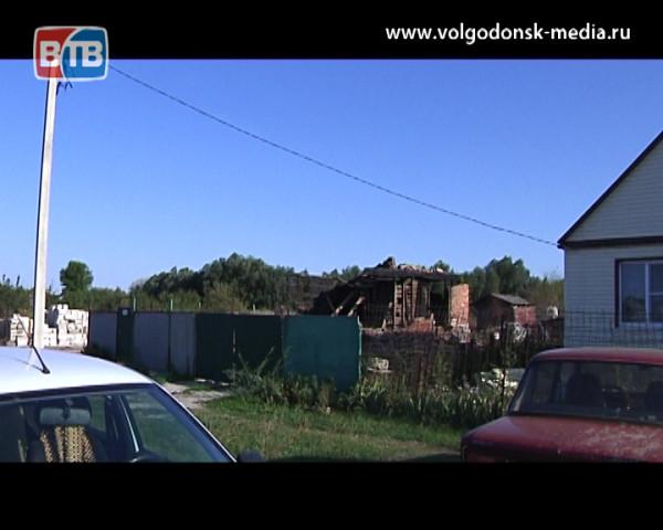 Сбор помощи для семьи, чей дом сгорел в станице Подгоренской, прошел накануне в Волгодонске