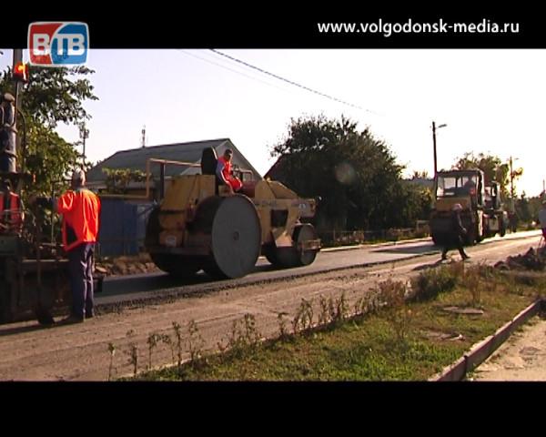 Текущий ремонт дорог в Волгодонске завершат к декабрю