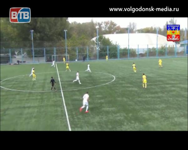 Футбольный клуб «Волгодонск» завершил серебряный сезон 2017 года победой