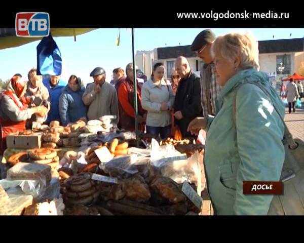 С двух ярмарок «выходного дня» горожане унесли более 50 тонн продукции