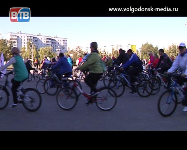 Волгодонск отметил «День без автомобиля» самым массовым велопробегом