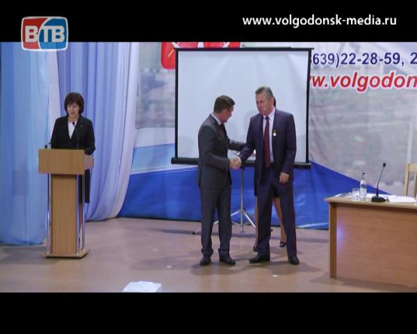 В Волгодонске состоялось расширенное заседание коллегии Администрации Волгодонска с участием делового сообщества города