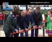 На въезде в село Дубовское появился монумент «Защитникам земли Дубовской посвящается»