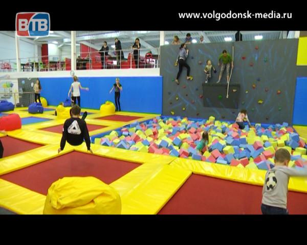 Детям Волгодонска, больным диабетом, подарили праздник в батутном парке