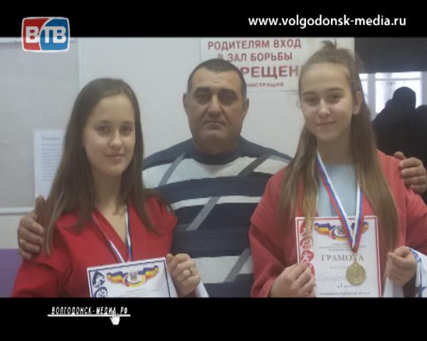 Дзюдоистки из Волгодонска выступили в Ростове-на-Дону в честь Дня самбо