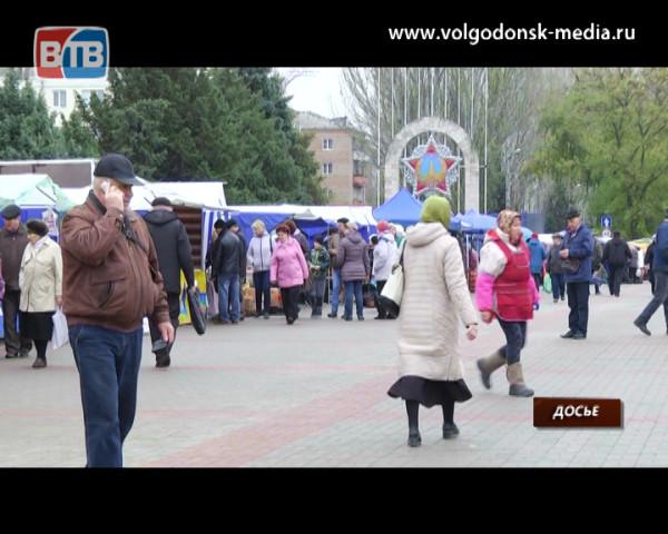 На субботней ярмарке «выходного дня» реализовано 30 тонн продукции