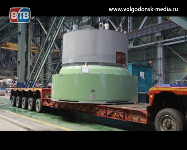 Атоммаш отгрузил крышку реактора для второго энергоблока Белорусской АЭС