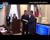 В Администрации Волгодонска наградили победителей конкурса на звание «Лучший казачий дружинник Волгодонска»
