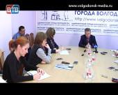 Глава Администрации Виктор Мельников провел круглый стол с журналистами Волгодонска