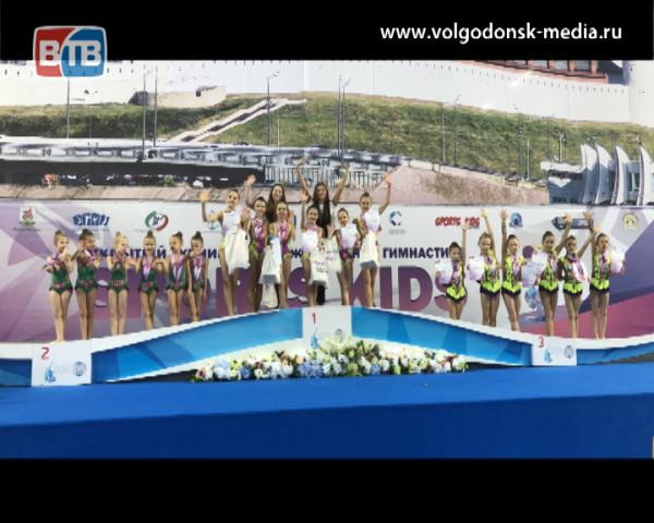 Волгодонские гимнастки завоевали медали разного достоинства на Всероссийских соревнованиях по художественной гимнастике