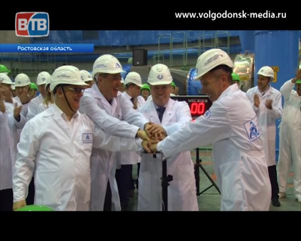 Физический пуск 4-го энергоблока Ростовской АЭС