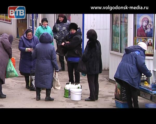 Торговля с земли. По пресечению стихийных рынков Администрация Волгодонска провела очередной рейд на улицах города