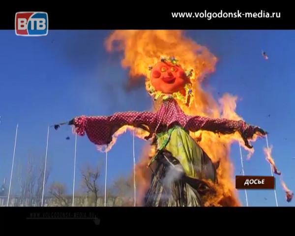 В Волгодонске Масленицу отпразднуют в следующие выходные на площади Победы