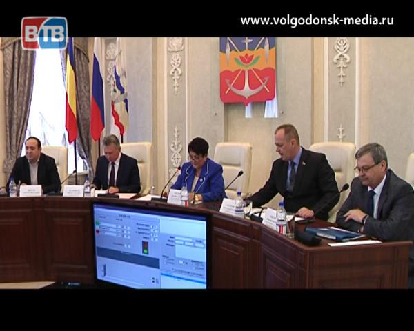 Волгодонская городская Дума отчиталась о своей работе за минувший год на мартовском заседании