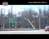 В Волгодонске водитель автобуса №22 снес троллейбусную опору
