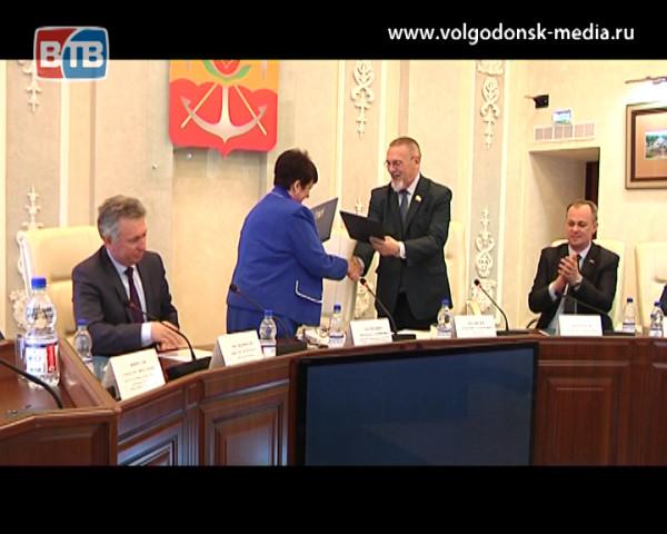 Апрельское заседание Волгодонской городской Думы посетили представители Ставропольской