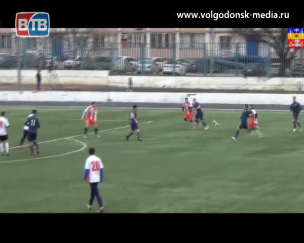 Волгодонск одержал победу со счетом 2:0 в матче с «Кобарт–ЮФУ»