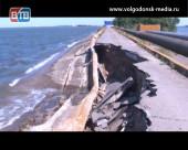 Цимлянское водохранилище заполнилось «под завязку» и разрушило дамбу