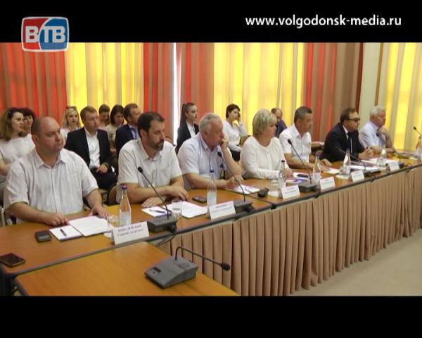 Волгодонск поделился опытом, наработанным в социальной сфере, с представителями Совета муниципальных образований Ростовской области