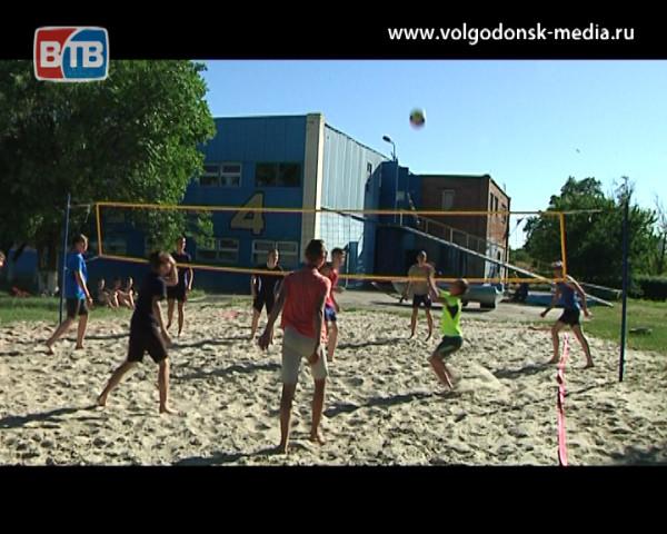 «Дети. Город. Спорт». В Волгодонске уже 5 лет успешно развивается спортивная секция по волейболу для мальчиков и юношей