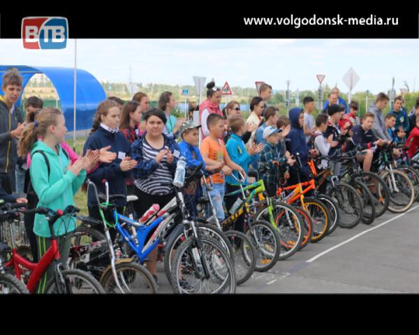 Станция юных техников Волгодонска провела городские соревнования для велосипедистов