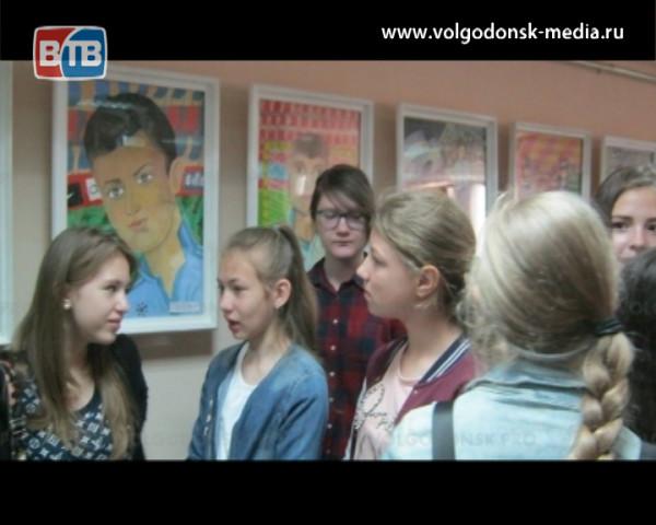 Юные художники – спорту: в центральной библиотеке открылась выставка детского рисунка