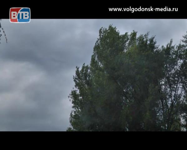 На Ростовскую область надвигается грозовой фронт