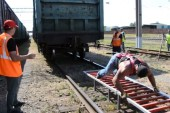Семнадцать вагонов: донской силач сдвинул с места состав весом в 401 тонну