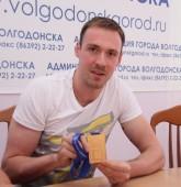 Парень из нашего города. Игрок сборной по волейболу Игорь Филиппов провел пресс-конференцию для городских СМИ