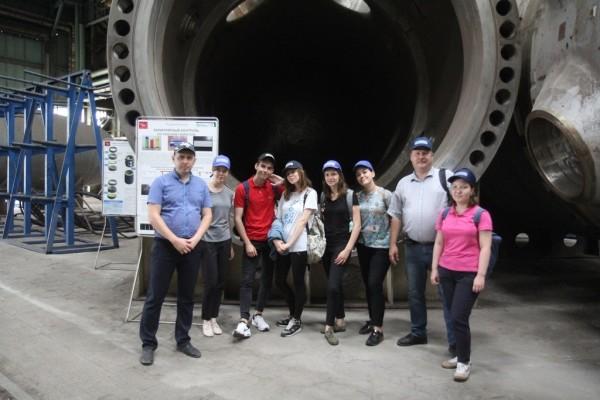 Атоммаш с экскурсией посетили студенты МГУ и СПбГУ