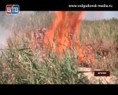 Период с 6 по 8 августа в Ростовской области объявлен чрезвычайно пожароопасным
