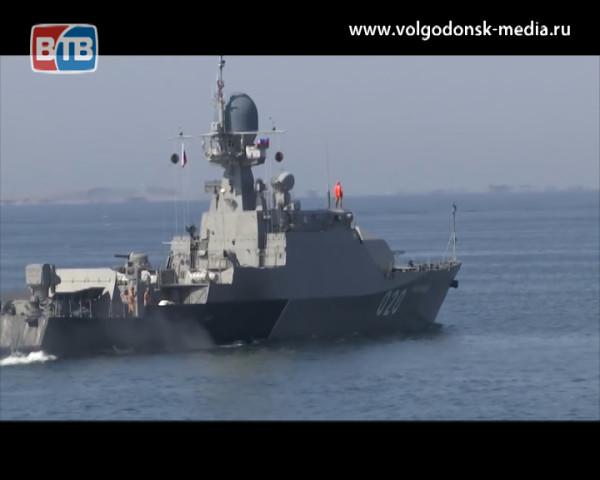 Члены экипажа корабля «Волгодонск» побывали в Волгодонске