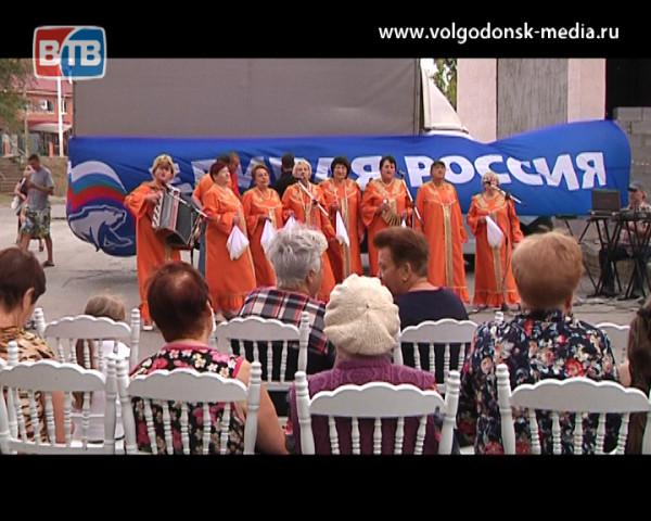 Депутат Сергей Васильченко подарил праздник жителям 9 округа