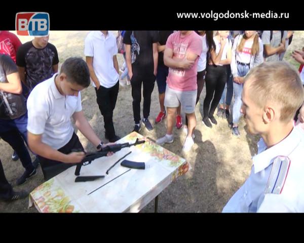 В Волгодонске впервые прошел слет казачьей молодежи города