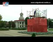 Памятник «Речник и рабочий» обновили к дню рождения Волгодонска