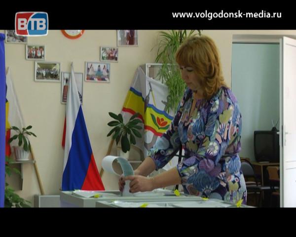 Горожане проголосовали за депутатов Законодательного Собрания области