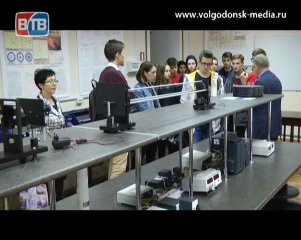 В Волгодонске прошла профориентация школьников по стандартам WORDSKILLS