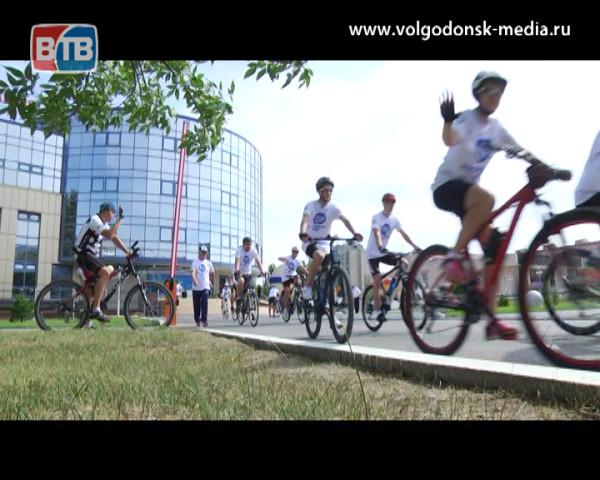Пуску четвертого блока посвящается. Волгодонские атомщики приняли участие в велопробеге до Таганрога