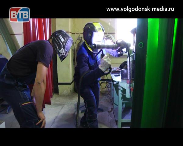 В Волгодонске работает уникальная школа подготовки сварщиков Владимира Тудвасева